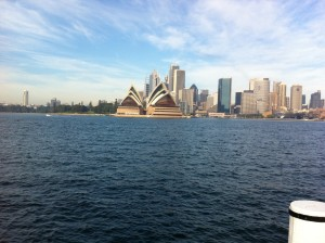 sydney Opera from Kirribilli