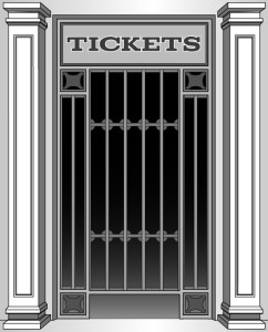 Express Ticket window